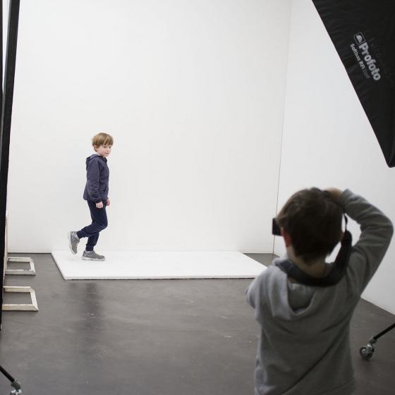 Apprendre la photo dans un studio pro