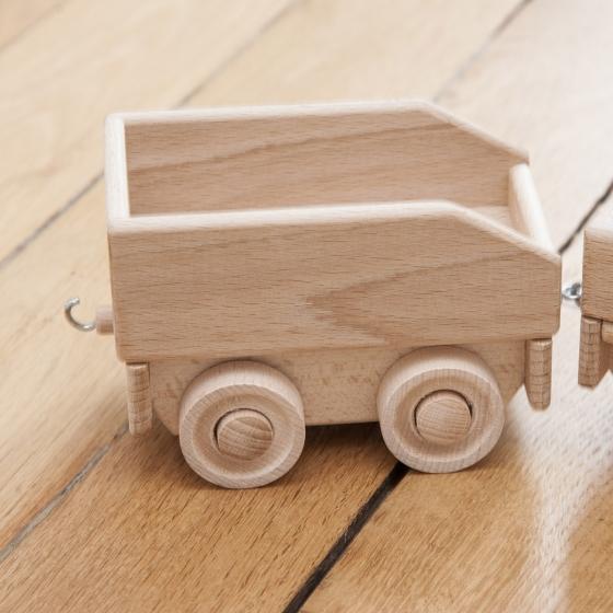 Le petit train en bois