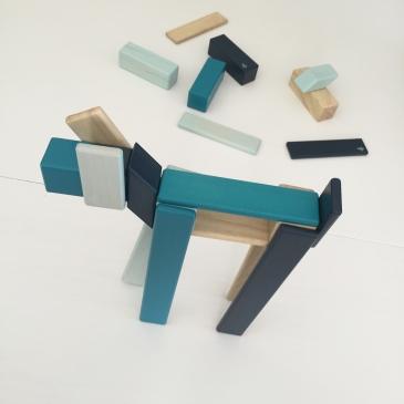 Blocs en bois magnétiques
