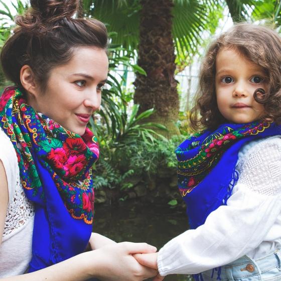 Foulards assortis maman & enfant