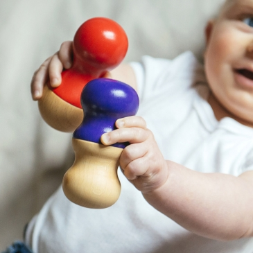 Mini maracas pour bébé