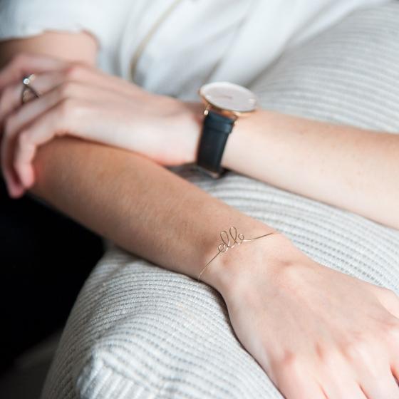 Un bracelet à son nom