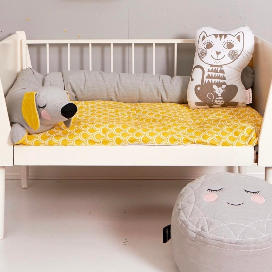 tour de lit chien les petits raffineurs. Black Bedroom Furniture Sets. Home Design Ideas