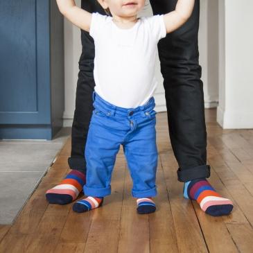 Coffret de chaussettes assorties pour grands et petits