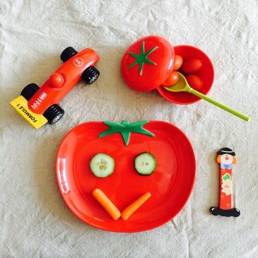 Assiette tomate