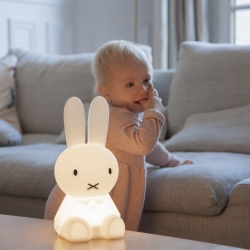mini lampe miffy les petits raffineurs. Black Bedroom Furniture Sets. Home Design Ideas