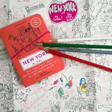 Mini city-guide à colorier