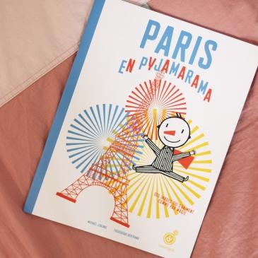 Livre animé - Paris en Pyjarama