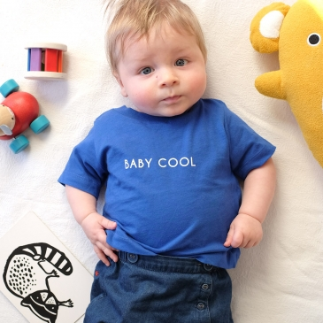 T-shirt Baby Cool ou Cool Kid