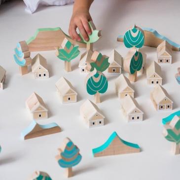 Village en bois