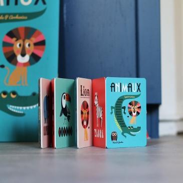 Mini livre animaux