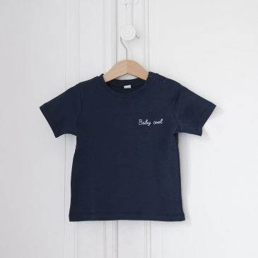 T-shirt brodé Baby Cool ou Cool Kid