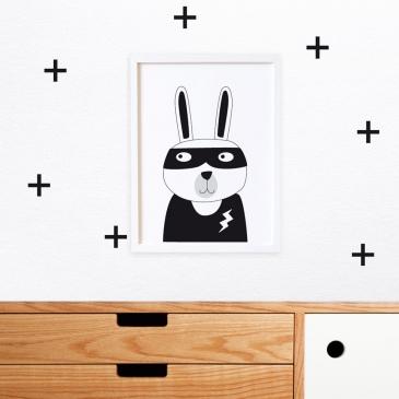 Affiche les animaux masqués