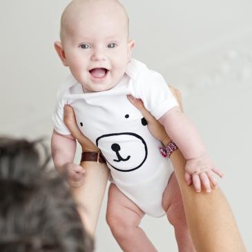 Body bébé en coton biologique